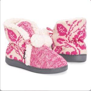 MUK LUKS Women's Lulu Slipper Boot size M 7/8